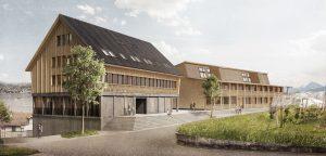 Aussenansicht 2 Studentenwohnheim Wädenswil