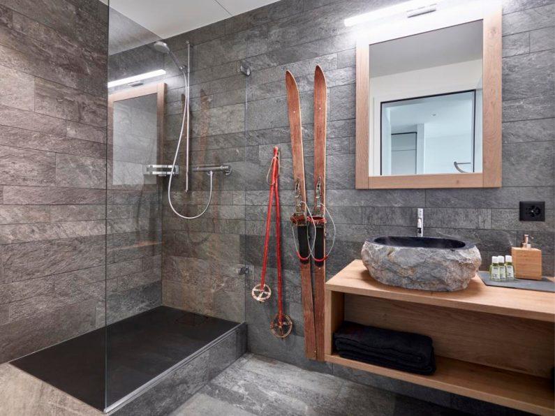 Badezimmer Atzmännig Lodge