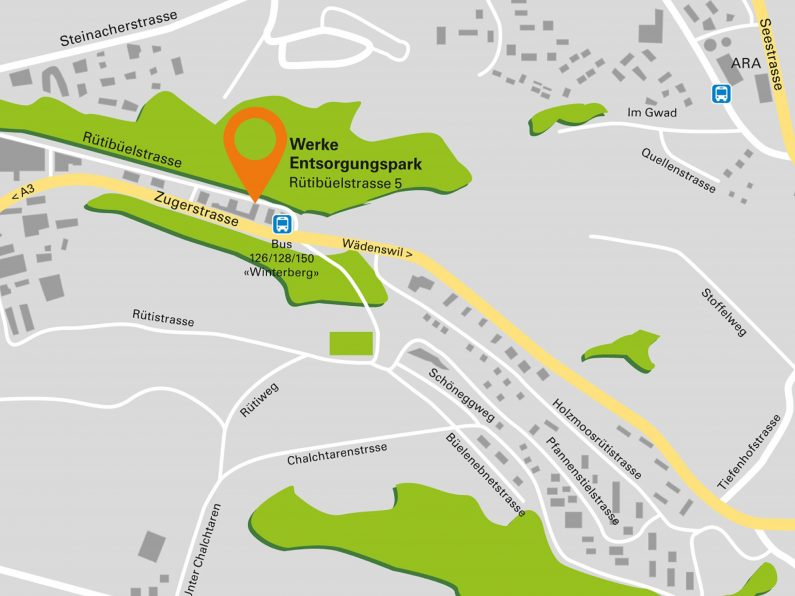 Entsorgungspark_Lageplan