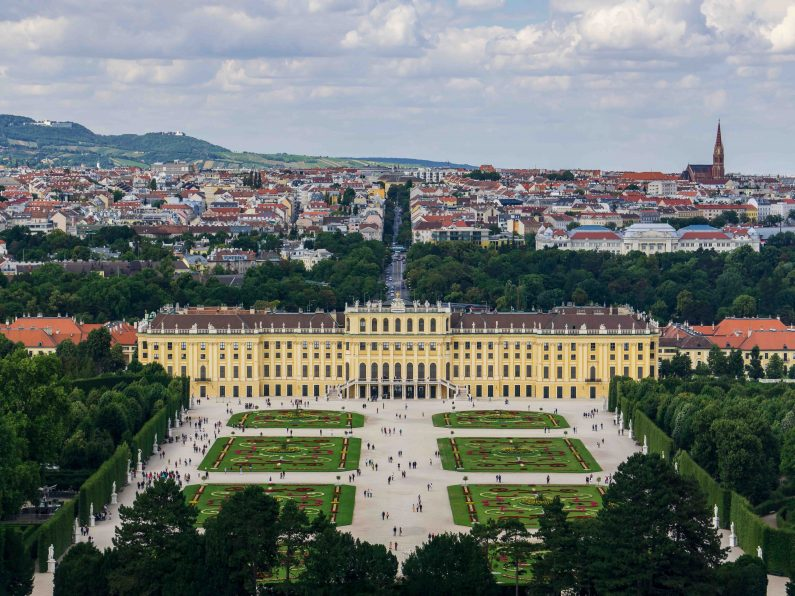 Schloss Schönbrunn in Wien_Österreich