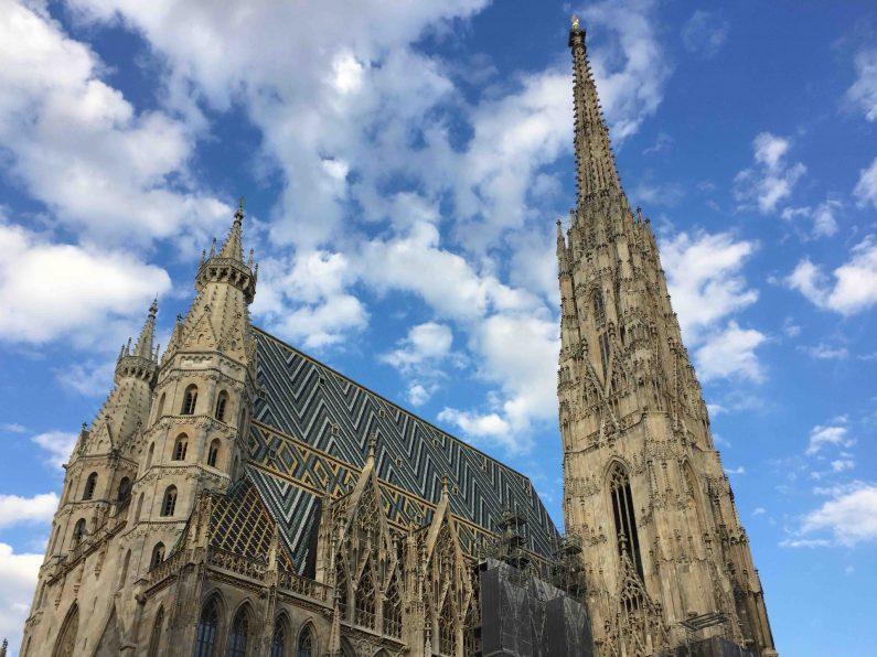 Stephansdom in Wien, Österreich